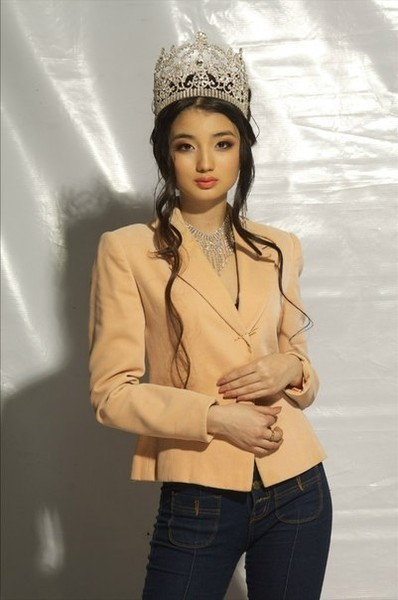 Ainura Toleuova, Miss Kazakhstan World 2013. Photo