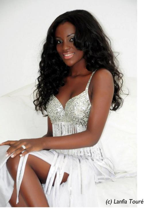 Hadjau Helene Valerie Djouka - Miss Cote d'Ivoire World 2012. Photo