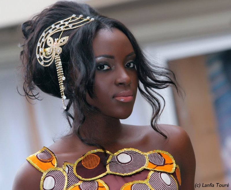 Hadjau Hélène-Valerie Djouka - Miss Côte d'Ivoire World 2012. Photo