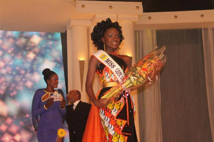 Hadjau Helene Valerie Djouka - Miss Ivory Coast World 2012. Photo