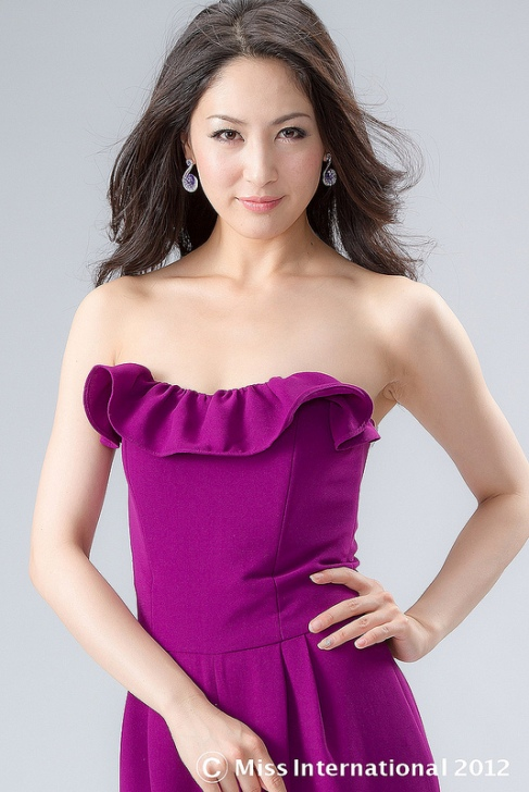 Ikumi yoshimatsu miss international