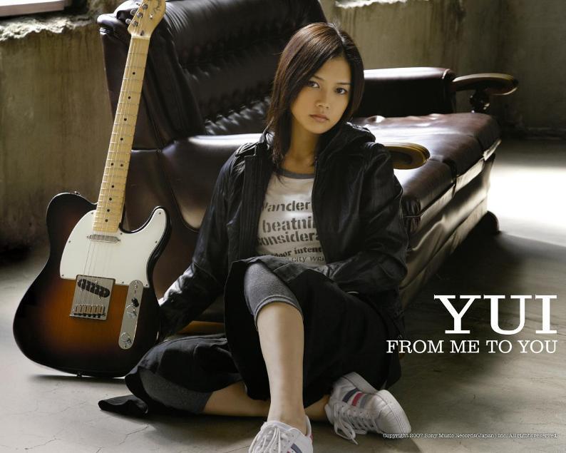 В yui / Юи Есиока - Японская певица