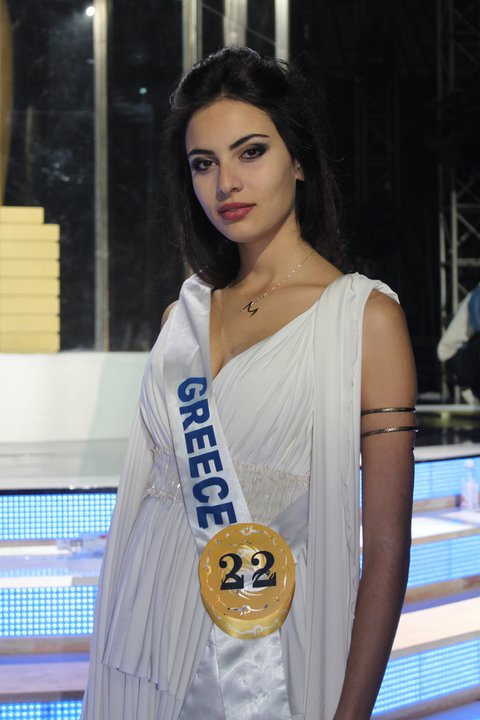Maria Tsagkaraki - The Most Beautiful Greek Woman. Photo