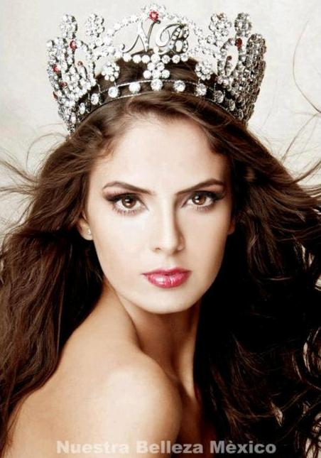 Mariana Berumen Reynoso - Miss Mexico World 2012. Photo
