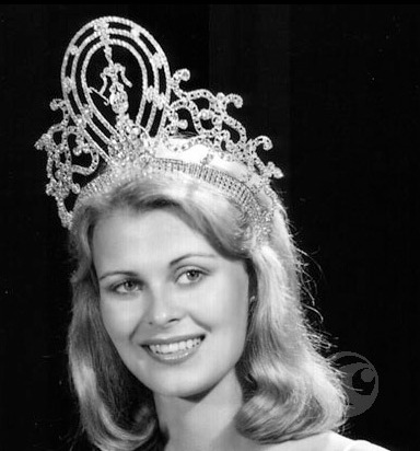 Anne Marie Pohtamo (Finland) - Miss Universe 1975. Photo