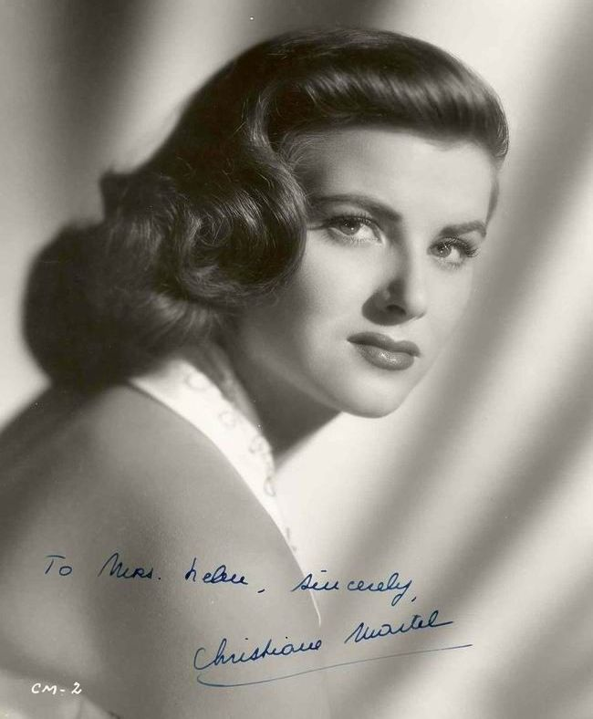 Christiane Martel (France) - Miss Universe 1953. Photo