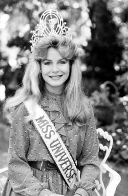 Lorraine Downes (New Zealand) - Miss Universe 1983. Photo