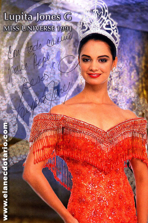 Lupita Jones (Mexico) - Miss Universe 1991. Photo