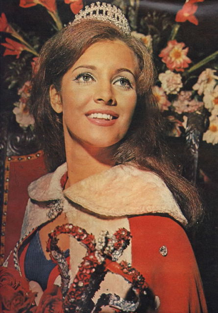 Martha Vasconcellos (Brazil) - Miss Universe 1968. Photo