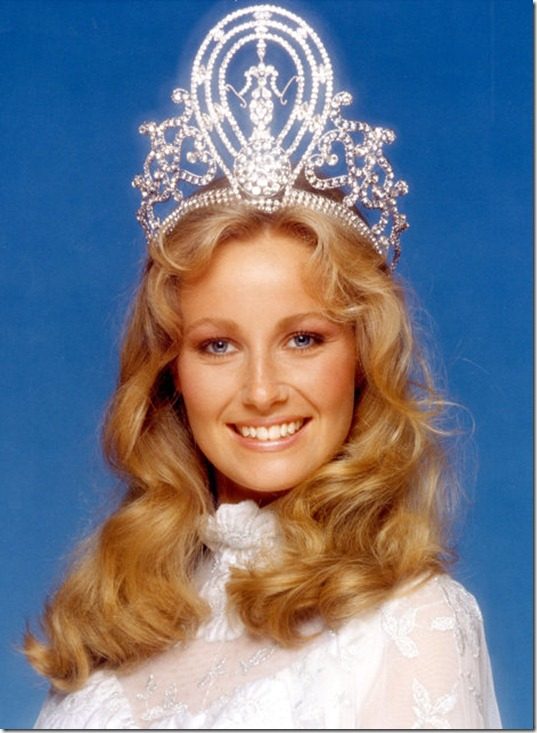 Yvonne Ryding (Sweden) - Miss Universe 1984. Photo