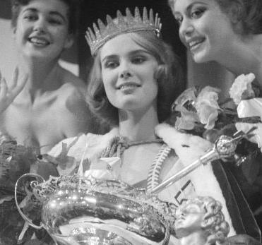 Marita Lindahl (Finland), Miss World 1957. Photo