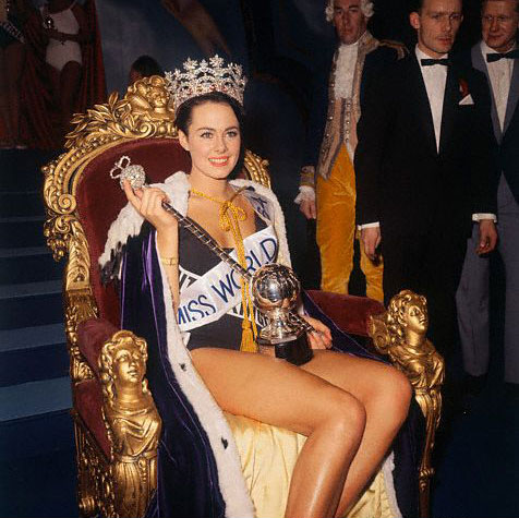Ann Sidney (United Kingdom), Miss World 1964. Photo