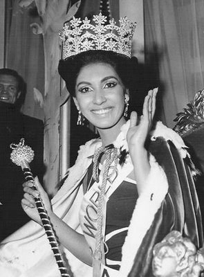 Reita Faria (India), Miss World 1966. Photo