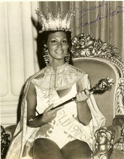 Jennifer Hosten (Grenada) Miss World 1970 Photo