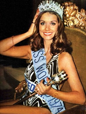 Helen Morgan (United Kingdom) Miss World 1974 Photo