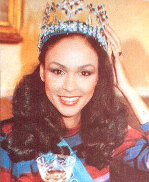 Gina Swainson (Bermuda) Miss World 1979 Photo