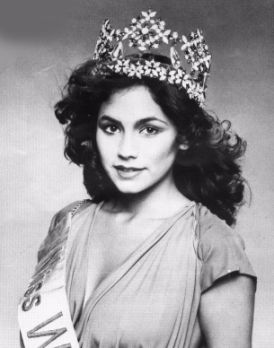 Kimberley Santos (Guam) Miss World 1980 Photo