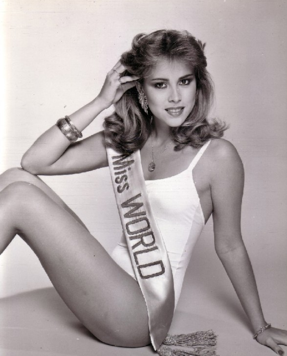 Pilín León (Venezuela) Miss World 1981 Photo