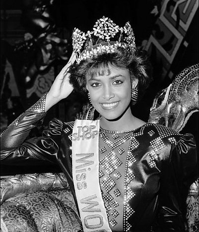 Giselle Laronde (Trinidad & Tobago) Miss World 1986 Photo