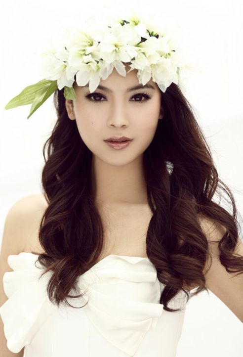 Yu Wenxia - Miss China 2012 and Miss World 2012 winner. Photo