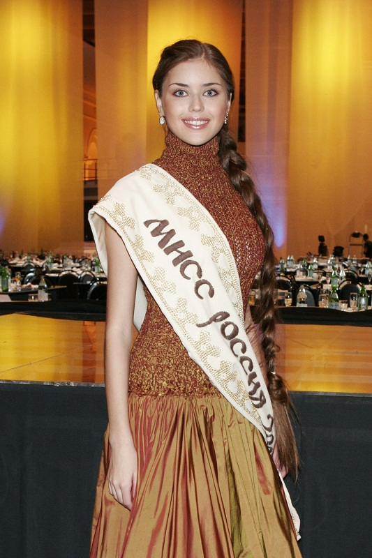 Alexandra Ivanovskaya Miss Russia 2005 winner photo