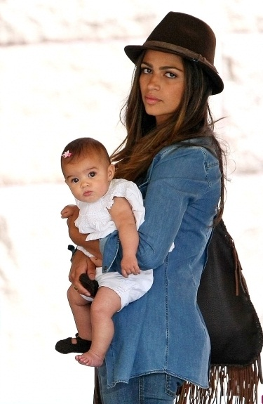 Camila Alves and baby photo