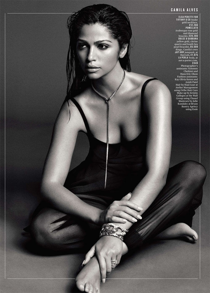 Camila Alves DeLuxe Magazine hot photoshoot