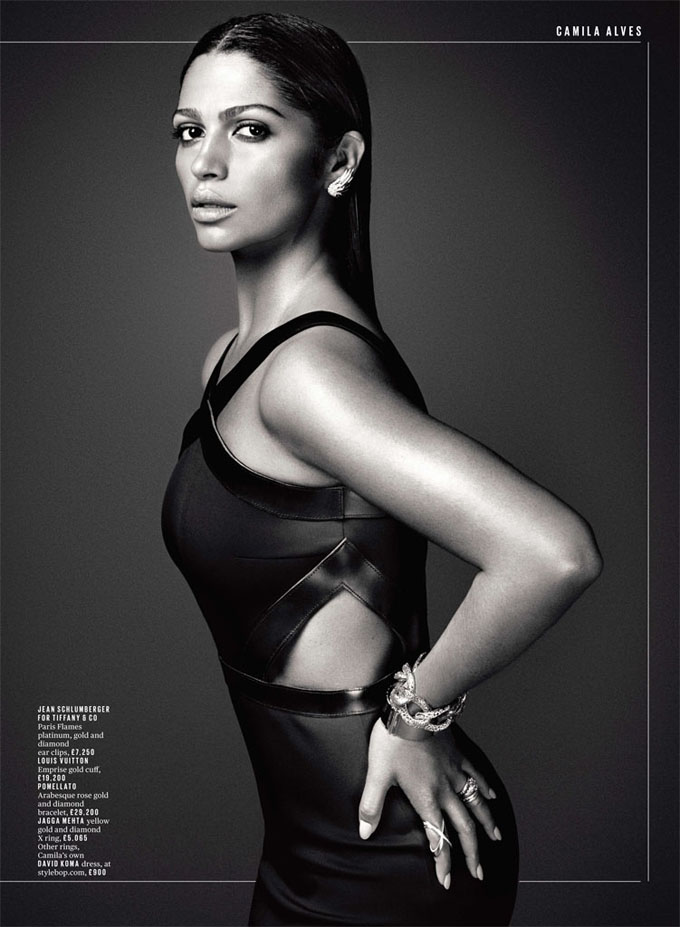 Camila Alves DeLuxe Magazine photo shoot