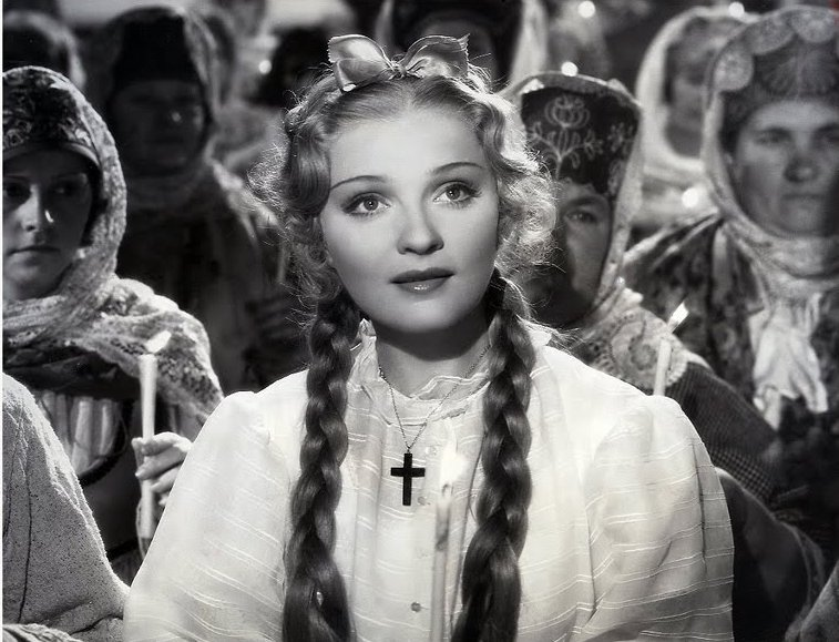 Anna Sten in We Live Again (1934) movie