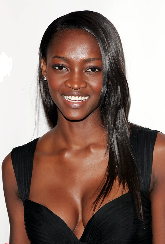 hot black model Oluchi Onweagba-Orlandi