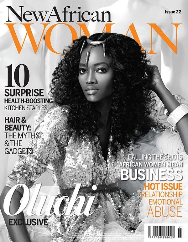Улучи Onweagba-Орланди для нового журнала африканка