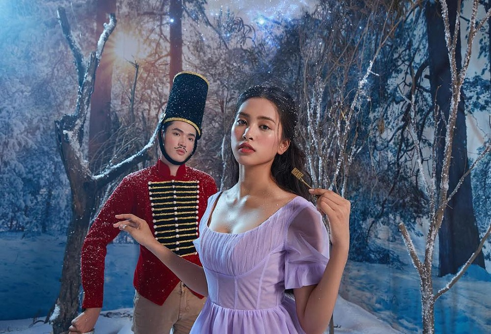 Trần Tiểu Vy Photo Shoot The Nutcracker for Disney