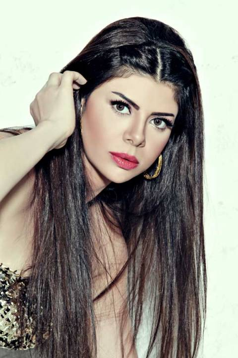 Amira Fathy / اميرة فتحى Beautiful Egyptian girl singer. photo