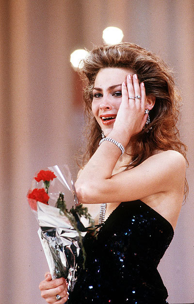 Julia Sukhanova Miss Soviet Union / USSR 1989. Photo