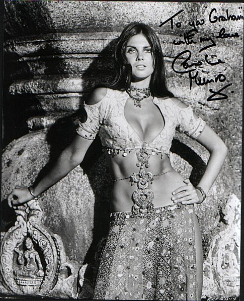 hot Caroline Munro. photo