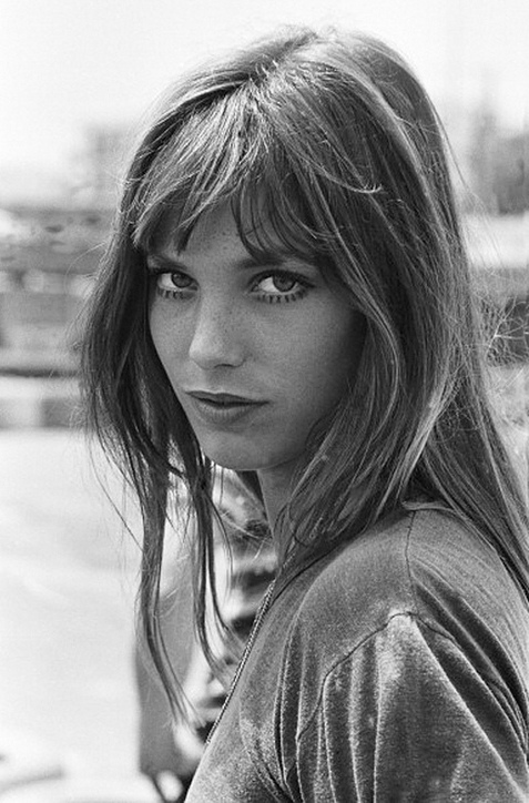 beautiful english women: Jane Birkin. photo