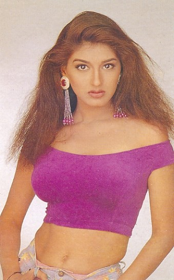 indian actress Sonali Bendre hot photo