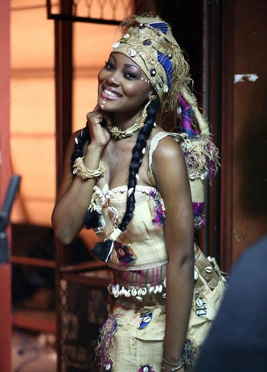 Ruth Jennifer Ondo Mouchita Miss Gabon Universe 2013. photo