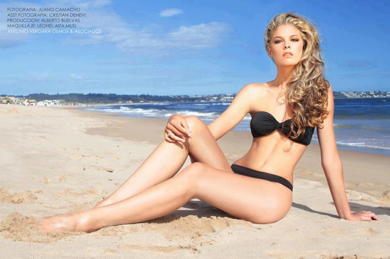 Micaela Orsi Miss Uruguay Universe 2013 photo