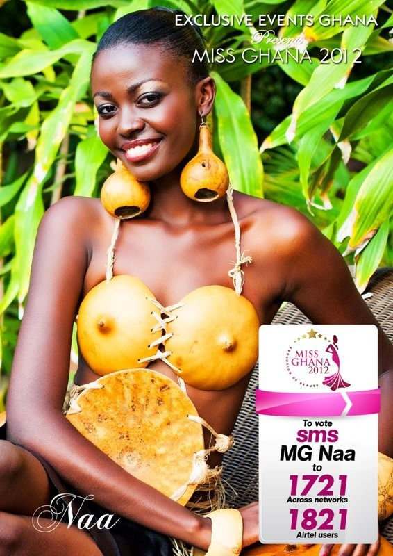 Naa Okailey Shooter Miss Ghana World 2013 photo