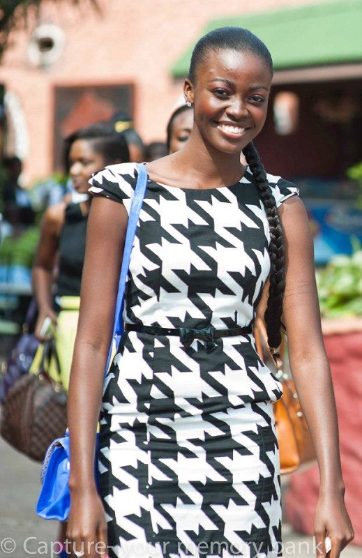 Naa Okailey Shooter Miss Ghana 2012 photo