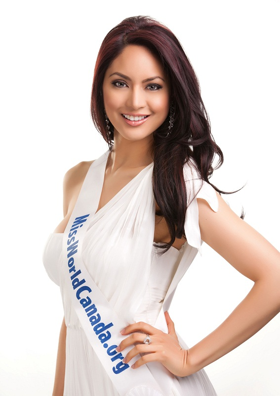Riza Raquel Santos Miss World Canada 2011 photo
