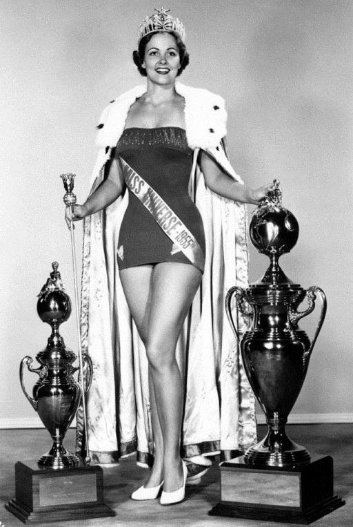 Miriam Jacqueline Stevenson (South Carolina) Miss USA 1954. photo