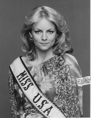 Kimberly Louise Tomes (Texas) Miss USA 1977