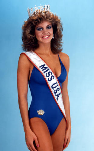 Julie Lynne Hayek (California) Miss USA 1983