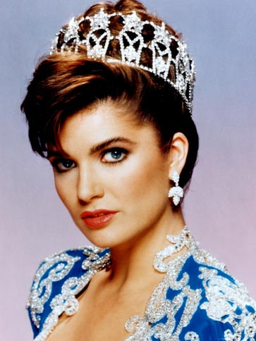 Michelle Renee Royer (Texas) Miss USA 1987