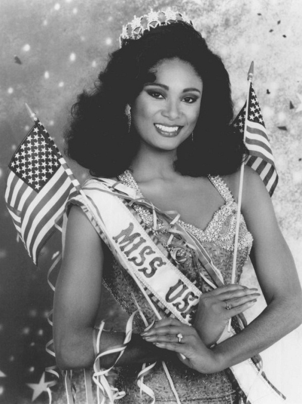 Carole Anne-Marie Gist (Michigan) Miss USA 1990