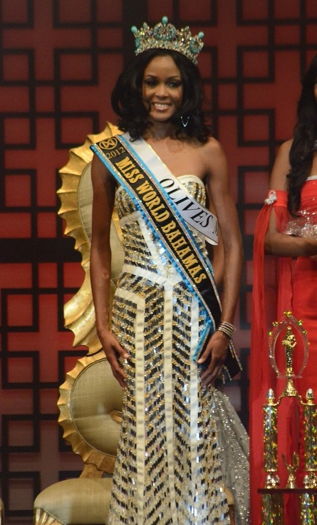 De'Andra Bannister Miss World Bahamas 2013. picture