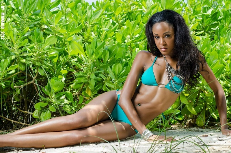 De'Andra Bannister Miss World Bahamas 2013. hot photo