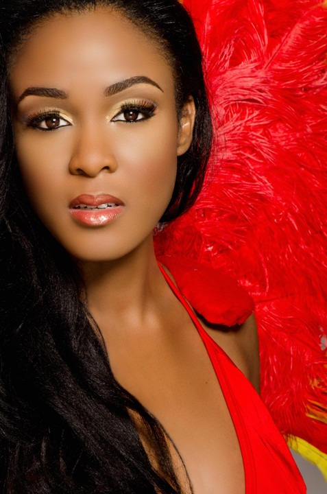 De'Andra Bannister Miss World Bahamas 2013. Photo Gallery